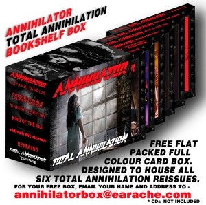 ANNIHILATOR: FREE BOOKSHELF BOX AVAILABLE