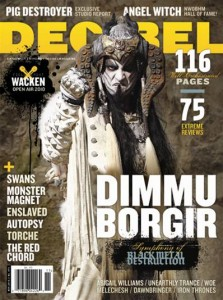 Dimmu Borgir - Decibel Magazine's November 2010 issue