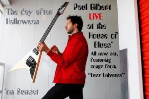 Paul Gilbert - Live
