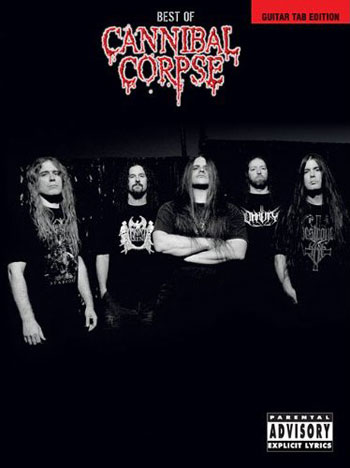 CANNIBAL CORPSE release guitar tab book