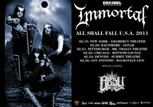 Immortal tour