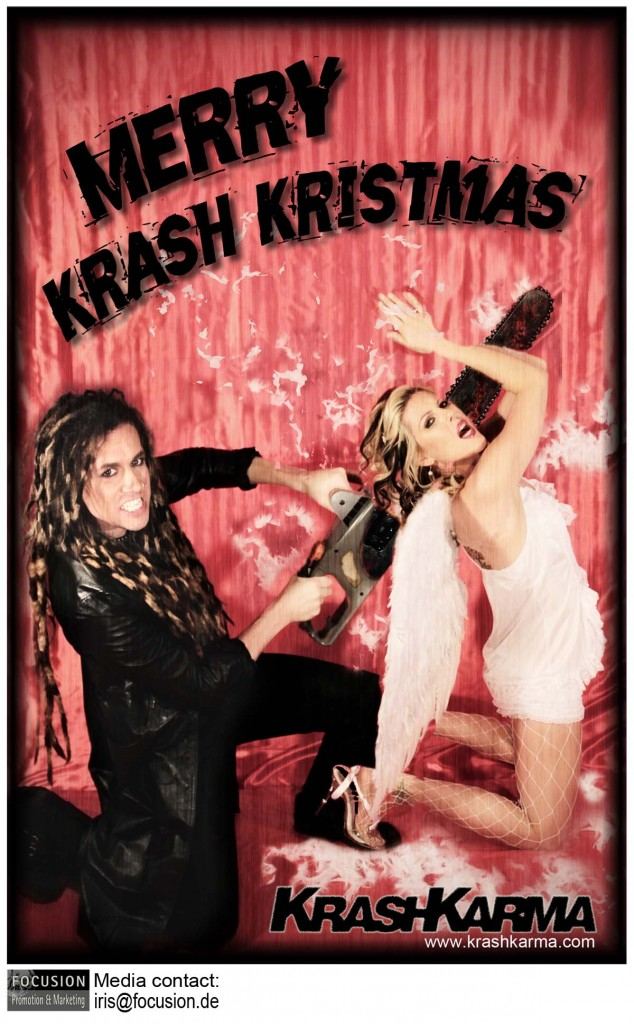 "KrashKarma – Giving Away a Free Christmas Song: ""Angels & Chainsaws"""