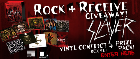 """Rock & Receive Giveaway"" with Eddie Trunk and Slayer"