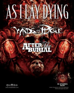 AS I LAY DYING announce 2011 headlining tour