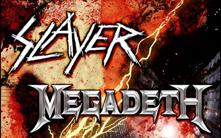 SLAYER, MEGADETH Announce European Carnage Tour