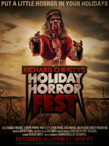 "Watch ""Richard Christy's Holiday Horror Fest"" on Reelzchannel this Saturday"