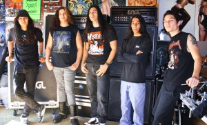 New BONDED BY BLOOD Line-up Pic