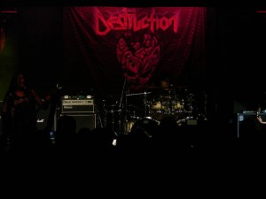Destruction stage