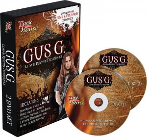 Gus G.'s Rock House Method Instructional DVD