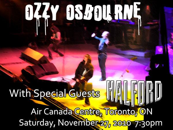 OZZY OSBOURNE - Live in Toronto