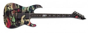ESP - limited-edition Slayer-2011 guitar