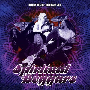 SPIRITUAL BEGGARS release new live album in Japan
