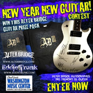 """New Year, New Guitar"" with Eddie Trunk and Alter Bridge"