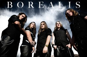 Canadian power metallers Borealis