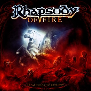 "RHAPSODY OF FIRE - ""FROM CHAOS TO ETERNITY"""