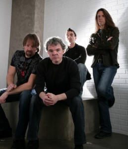 Hanker: Left to right: Pascal Cliche (lead singer/guitar), Luc Guay (drums), Laurent Imbeau (bass) and Patrick Gravel (guitar/back vocals)