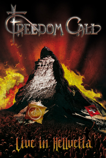 FREEDOM CALL - Live In Hellvetia CD/DVD