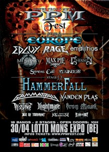 Power Prog and Metal Fest