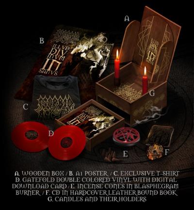 Morbid Angel - Illud Divinum Insanus (wooden foldout box)