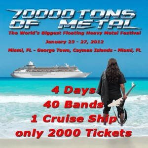 70000TONS OF METAL 2010