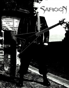 Frank Van Kwartel. Sargon: Lead/Rhythm guitars and vocals
