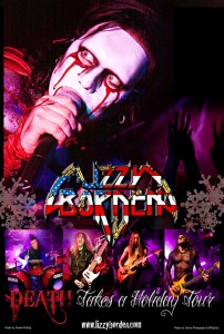 Lizzy Borden's Death takes a holiday tour 2011
