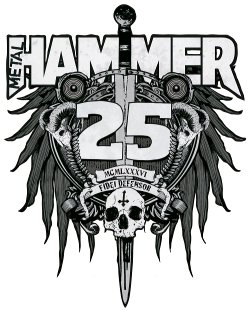 Metal Hammer 25th logo