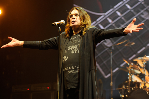 Ozzy Osbourne Performs at Madison Square Garden - December 1, 2010