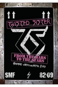 'Twisted Sister - From The Bars To The Stars: Three Decades Live' 5DVD Set - Out November 8 2011