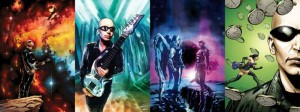 Joe Satriani appearing in Eternal Descent Vol.2 #3 (of 6)