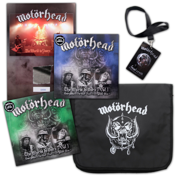 MOTORHEAD ASSEMBLE KILLER LIMITED EDITION MOTOR BAG