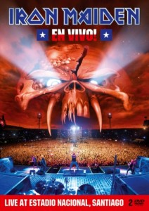 IRON MAIDEN To Release 'En Vivo!' Concert Blu-Ray, Two-DVD Set And Double Soundtrack Album