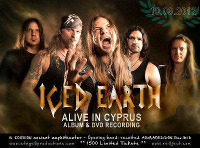 ICED EARTH Live In Cyprus