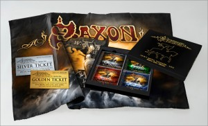 "SAXON ""HEAVY METAL THUNDER - LIVE - EAGLES OVER WACKEN"""