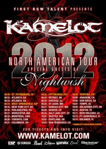 Kamelot / Nightwish 2012 North American Tour