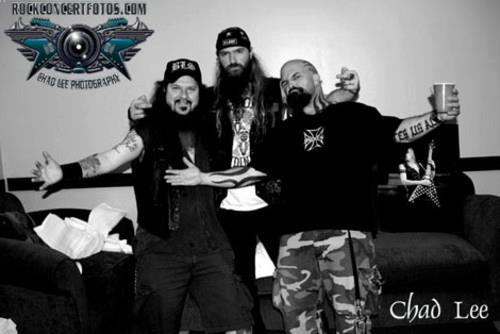 Good memories: Dime, Zakk, and Kerry.