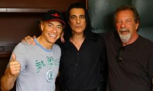 Jean-Claude Van Damme, Joey DeMaio, Moshe Diamant