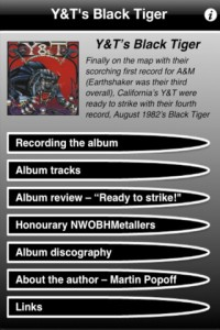 Y&T - BLACK TIGER APP