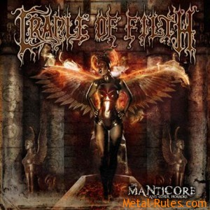 "CRADLE OF FILTH ""THE MANTICORE AND OTHER HORRORS"""