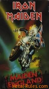 Maiden England (VHS Cover)