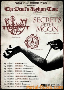 METAL-RULES.com Will be attending BETHLEHEM, SECRETS OF THE MOON, and DORDEDUH as they embark on a joint concert tour of Europe!