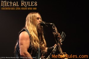 Black Label Society: Live @ Mile One, St. John's, NL, Oct. 16, 2012