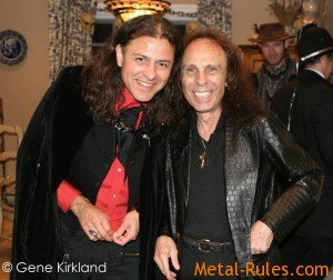 Oni Logan & Ronnie James Dio