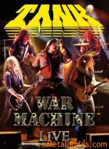 "Tank ""War Machine Live"" DVD"