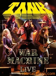 Tank - War Machine Live DVD