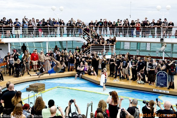 Belly Flop Contest - Barge To Hell 2012