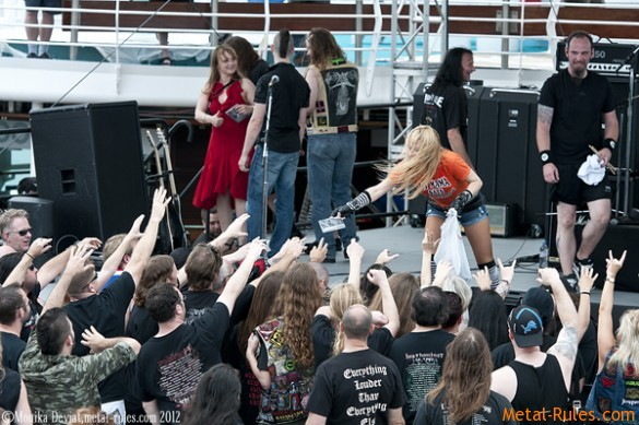 Holy Moses - Barge To Hell 2012