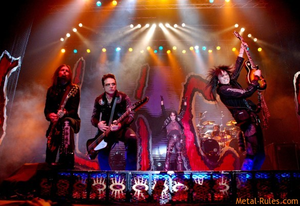 Alice Cooper band 2009