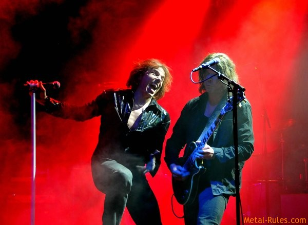 Joey Tempest and John Norum