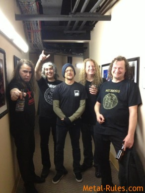 Voivod with Jason in Oakland